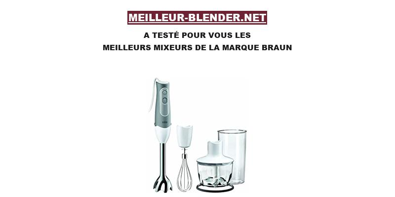 Braun blender
